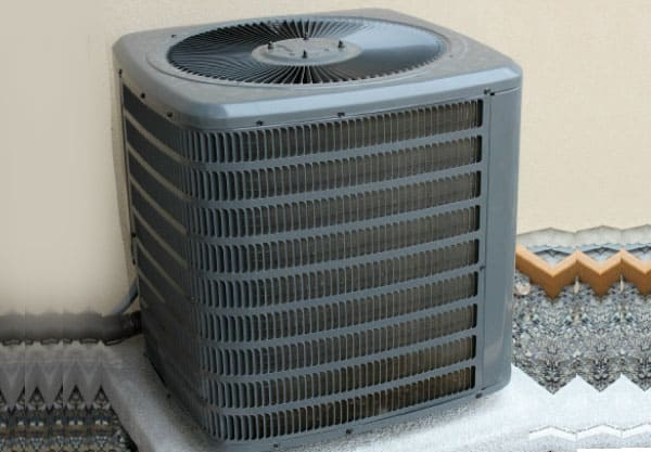 AC noise reduction -- air conditioning installation